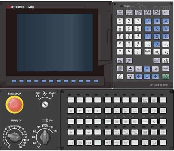 Mitsubishi M70v Cnc Control  U2013 Drives  Servo  U0026 Motion